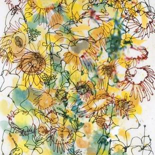 Art: Sunflowers by Artist Mary Anne Carley