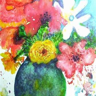 Art: Mixed Bouquet by Artist Ulrike 'Ricky' Martin