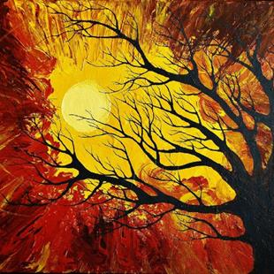 Art: The Radiant Warmth (sold) by Artist Amber Elizabeth Lamoreaux