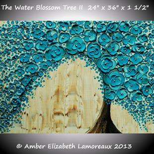 Art: The Water Blossom Tree II by Artist Amber Elizabeth Lamoreaux