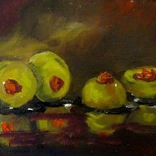 Art: Olives by Artist Delilah Smith