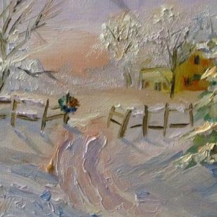 Art: Winter Day by Artist Delilah Smith
