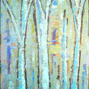 Art: Blue Grove 146 (a) by Artist Luba Lubin
