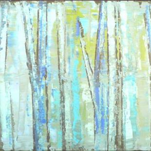 Art: Blue Grove 147 (s) by Artist Luba Lubin