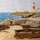 Art: PORTLAND BILL (UK) - SOLD by Artist Julie Jules