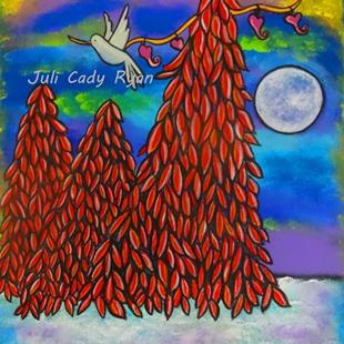 Art: Peace Flew In II by Artist Juli Cady Ryan
