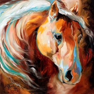 Art: MAGIC MOMENTS EQUINE by Artist Marcia Baldwin