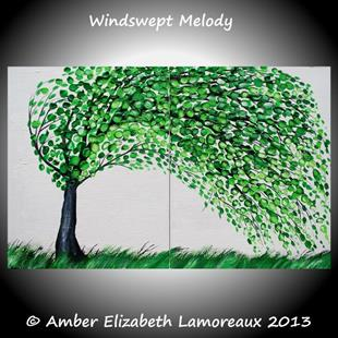 Art: Windswept Melody (sold) by Artist Amber Elizabeth Lamoreaux