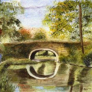Art: Country Stroll by Artist Janet M Graham