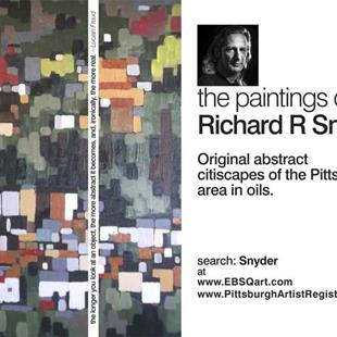 Art: promo for my paintings by Artist Richard R. Snyder