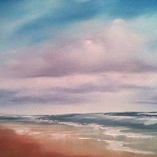 Art: Gulf Coast Beach Study, Florida, 2013 by Artist Kimberly Vanlandingham
