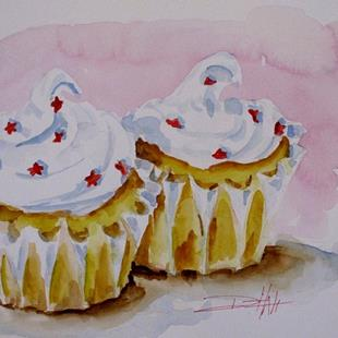 Art: Party Cupcakes-sold by Artist Delilah Smith