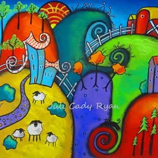 Art: The Enchanted Countryside by Artist Juli Cady Ryan