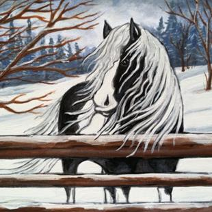 Art: Winters Beauty by Artist Rhonda Gilbert