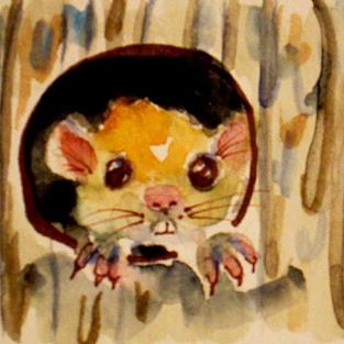 Art: Little Mouse by Artist Delilah Smith