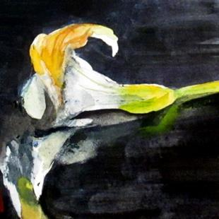 Art: Calla Lilly by Artist Delilah Smith