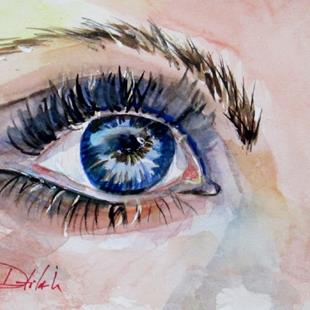 Art: The Eye of the Artist= SOLD by Artist Delilah Smith
