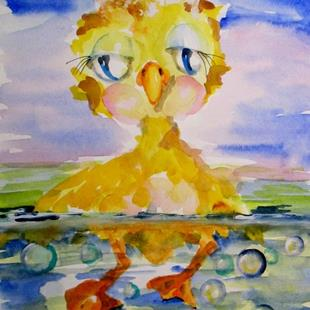 Art: Little Ducky Duddle by Artist Delilah Smith