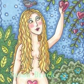 Art: VALENTINE FOR EVE by Artist Susan Brack