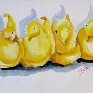 Art: Easter Candy Peeps-sold by Artist Delilah Smith
