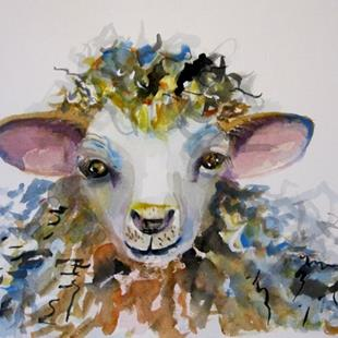 Art: Spring Lamb by Artist Delilah Smith