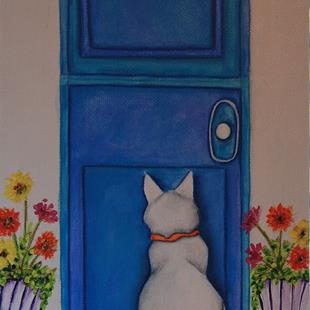 Art: Door by Artist Deb Harvey