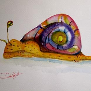 Art: Snail No. 2 by Artist Delilah Smith