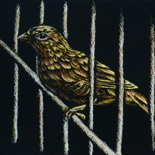 Art: Jail Break (SOLD) by Artist Monique Morin Matson