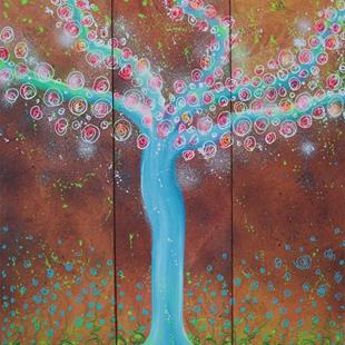 Art: Wisper Tree by Artist Laura Barbosa