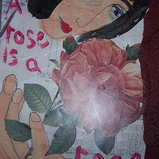 Art: A Rose is a Rose SOLD by Artist Nancy Denommee