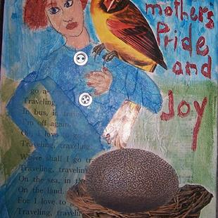Art: Mothers Pride and Joy SOLD by Artist Nancy Denommee