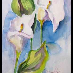 Art: Calla Lily by Artist Delilah Smith