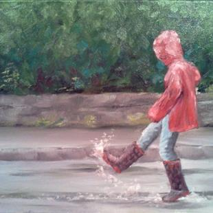 Art: Puddle by Artist Kimberly Vanlandingham
