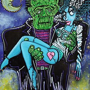 Art: My Monster My Bride by Artist Laura Barbosa