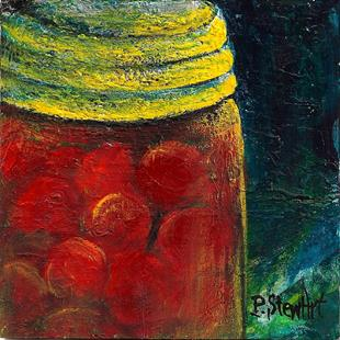 Art: Preserves: Canning Ball Jar by Artist Penny StewArt
