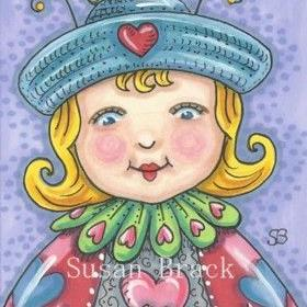 Art: LADYBIRD CUTE by Artist Susan Brack