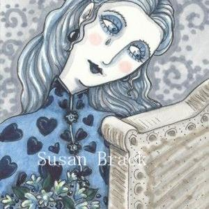 Art: WISHING YOU WERE HERE by Artist Susan Brack
