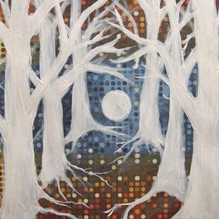 Art: SOLD - Ghost Trees by Artist Shawn Marie Hardy