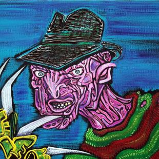 Art: Freddy's Coming For You by Artist Laura Barbosa