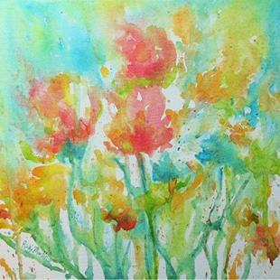 Art: Soft Floral by Artist Ulrike 'Ricky' Martin