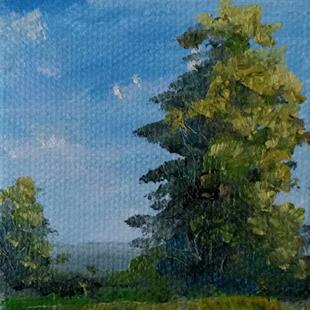 Art: Early Summer Trees, Kentucky, 2014 by Artist Kimberly Vanlandingham