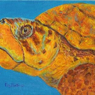 Art: Sea Turtle by Artist Ulrike 'Ricky' Martin