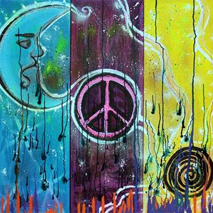 Art: Wish For Peace by Artist Laura Barbosa
