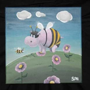 Art: Hippobee by Artist Stacey Harding