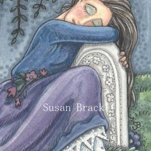 Art: MOTHERS WILL NEVER LET GO by Artist Susan Brack