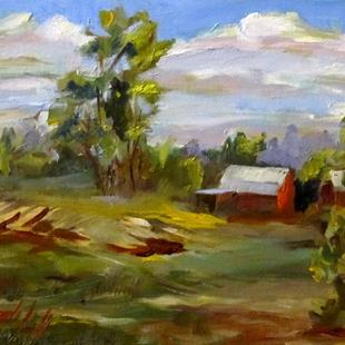 Art: American Landscape by Artist Delilah Smith
