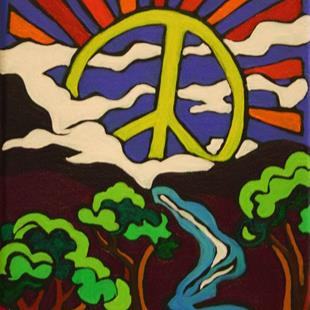 Art: Peace Valley by Artist Kim Loberg