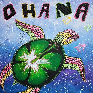 Art: Ohana Means Family by Artist Laura Barbosa