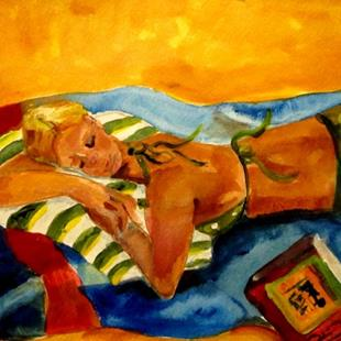 Art: Beach Diva No.2-sold by Artist Delilah Smith