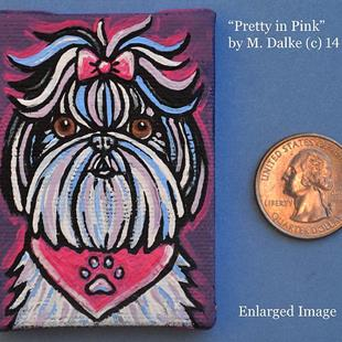 Art: Pretty in Pink by Artist Melinda Dalke